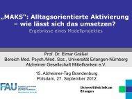 MAKS-Studie - Alzheimer Gesellschaft Brandenburg eV