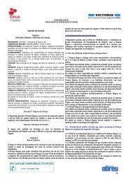 Seguro de Cancelamento de Viagens – Produto SGS 2004 - Abreu