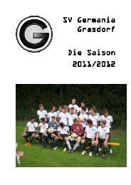 1. Herren SV Germania Grasdorf 2011/2012