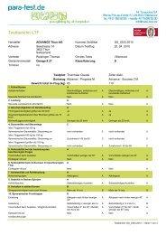 LTF Testbericht OMEGA 8 27 - Advance