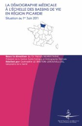 Atlas 2011 de la région Picardie - Conseil National de l'Ordre des ...