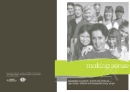 Making Sense: Information for parents, families and friends of gay ...