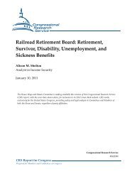 Railroad Retirement Board - Green Book. House Committee on ...
