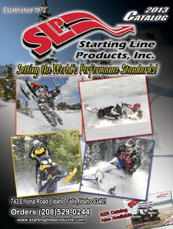 Click Here to download - Starting Line Products, Inc.
