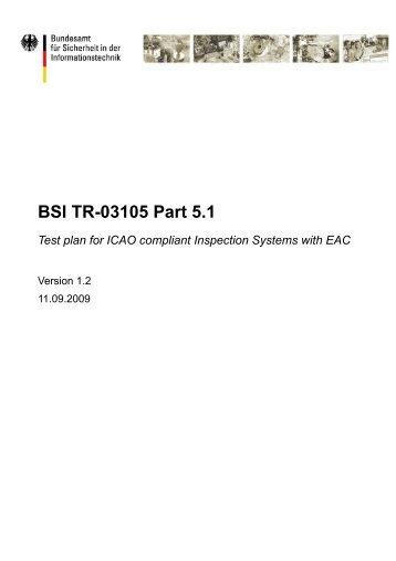 BSI TR-03105-5 - Bundesamt für Sicherheit in der Informationstechnik