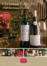 Christmas Gifts 2011 - The Wine Society
