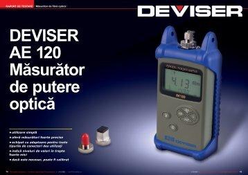 • utilizare simplă • oferă măsurători foarte precise • echipat cu ...