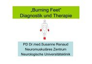 """Burning Feet"" Diagnostik und Therapie"