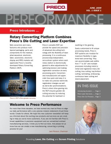Download This Newsletter - Preco Inc.