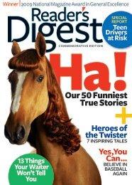 Our 50 Funniest True Stories - Reader's Digest