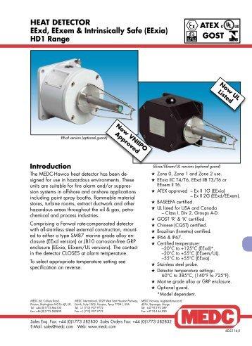 MEDC EXP Heat Detector - Advantedge.co.in