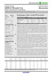 Przeczytaj raport na stronach Bankiera - Bankier.pl