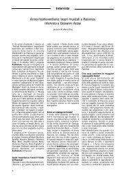 tesori musicali a Piacenza. Intervista a Giovanni Acciai - Diastema ...