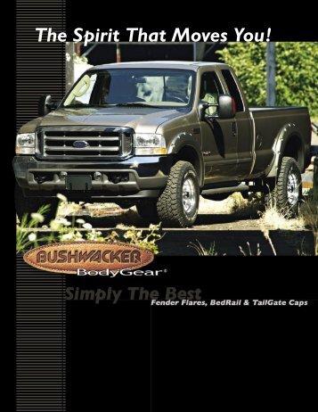 BSH-610 Bushwacker Catalog - Custom Camper