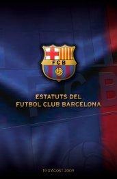 Estatuts - FC Barcelona