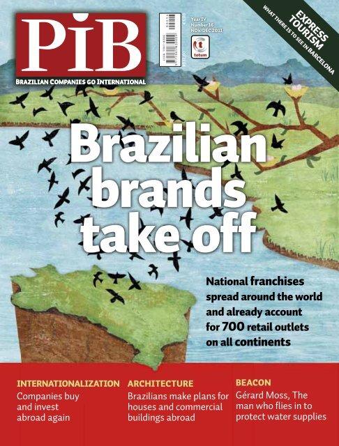 National franchises on all continents - Revista PIB