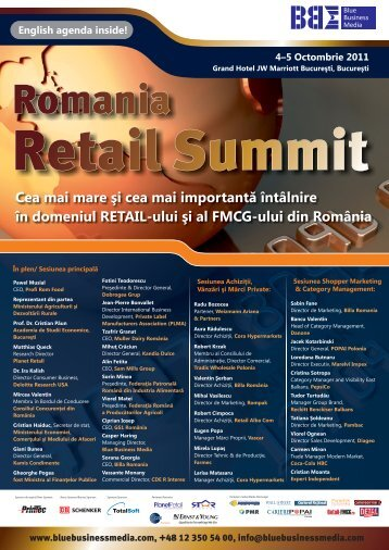 Romania Retail Summit - Blue Business Media