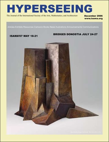 December - International Society for the Arts, Mathematics, and ...