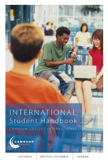 International Student Handbook - Camosun College