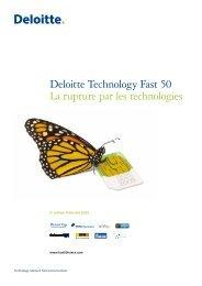 Palmarès 2009 - Deloitte
