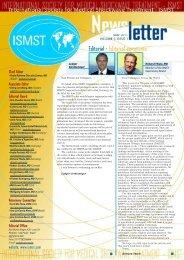 ISMST Newsletter 2011-05 No 7 - ISMST - International Society for ...