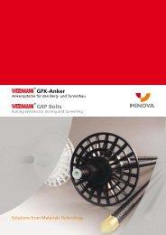 GFK-Anker GRP Bolts - Minova CarboTech GmbH