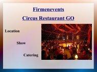Circus Restaurant GO - Eventlokale.com