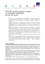 CLEAR - Agenda 21 Locale del Comune di Ravenna