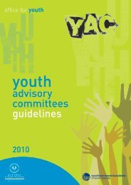 advisory committees guidelines - Office for Youth - SA.gov.au