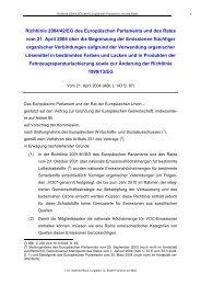 Richtlinie 2004/42/EG des Europäischen Parlaments und des Rates ...
