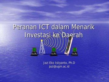 Macro Environment and Telecommunication - Prof. Jazi Eko ...