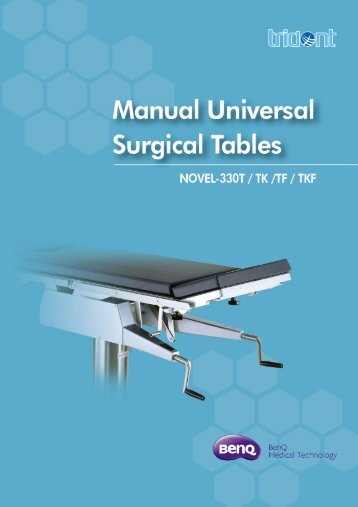 Manual Universal - BenQ Medical Technology