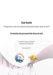 Formation du personnel des lieux de nuit - Club Health