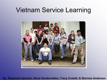 Vietnam Service Learning - Forgotten People Foundation