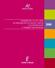 Informe 2008 - Instituto de la Mujer de Castilla-La Mancha - Junta de ...