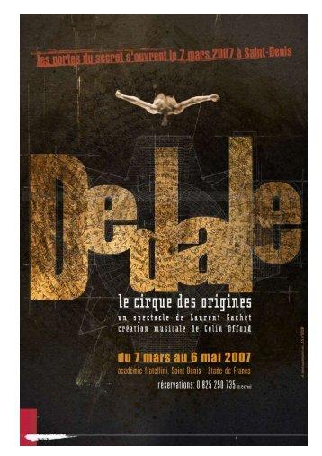 Télécharger la brochure du spectacle - Ville d'Aubervilliers