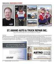 st. amand auto & truck repair inc. - The Business Link Niagara