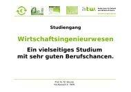 Link [282 KB] - WIW: HTW Berlin