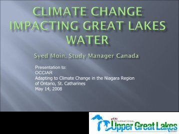 Climate - Ontario Centre for Climate Impacts and Adaptation ...