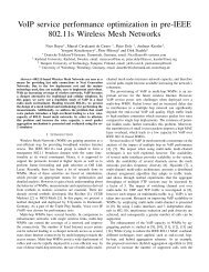 VoIP service performance optimization in pre-IEEE ... - ResearchGate
