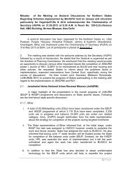 Minutes of meeting on 31st May 2013 - Ministry of Housing & Urban ...