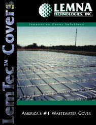 Cover Product Brochure - Lemna Technologies