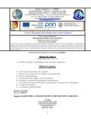 Bando reclutamento dei tutor - Istituto Comprensivo