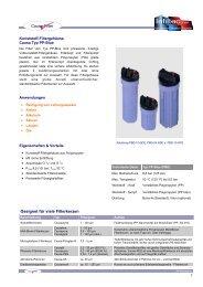 Kunststoff Serie Typ PP-Blue (PDF-Übersicht) - Infiltec GmbH