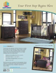 Ocean Brochure 2 - Baby's Dream Furniture
