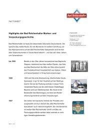Bad Reichenhaller / Verpackungsgeschichte - Alte Saline