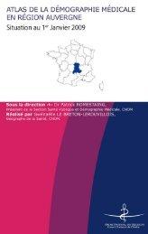 région Auvergne - Conseil National de l'Ordre des Médecins