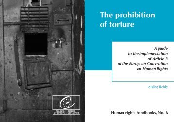 The prohibition of torture - 404 Page not found
