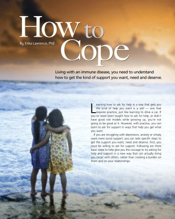 How to Cope: Getting the Support You Need - IG Living