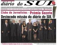 Diario do Sul 17 Setembro 2009 - Clube de Jornalistas